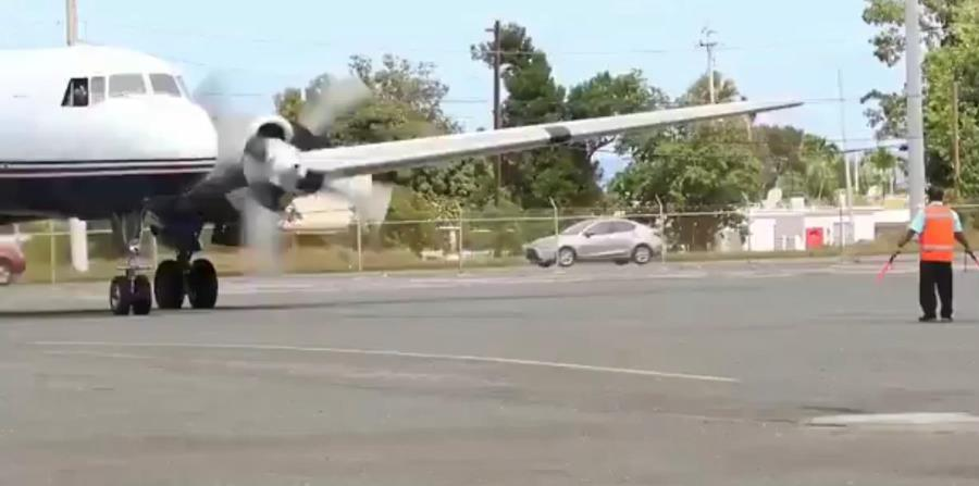 El secretario de Estado, Luis Rivera Marín, tomó un receso en sus funciones, aunque en La Fortaleza dicen que no tiene que ver con la polémica del avión con suministros para Venezuela. (GFR Media) (horizontal-x3)