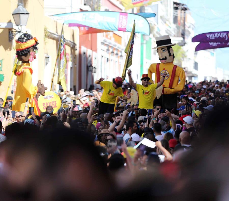 El público disfrutó al máximo de las Fiestas de la Calle San Sebastián. (semisquare-x3)