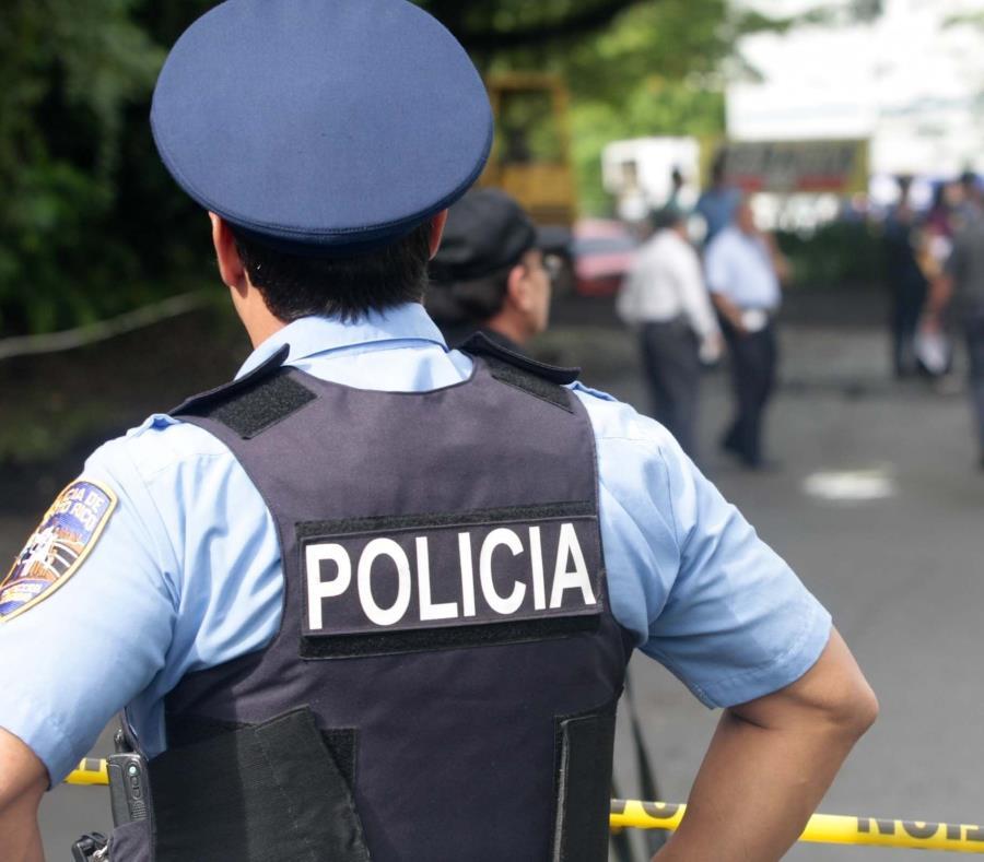 Un agente de la Policía observa una escena investigada por las autoridades. (GFR Media) (semisquare-x3)