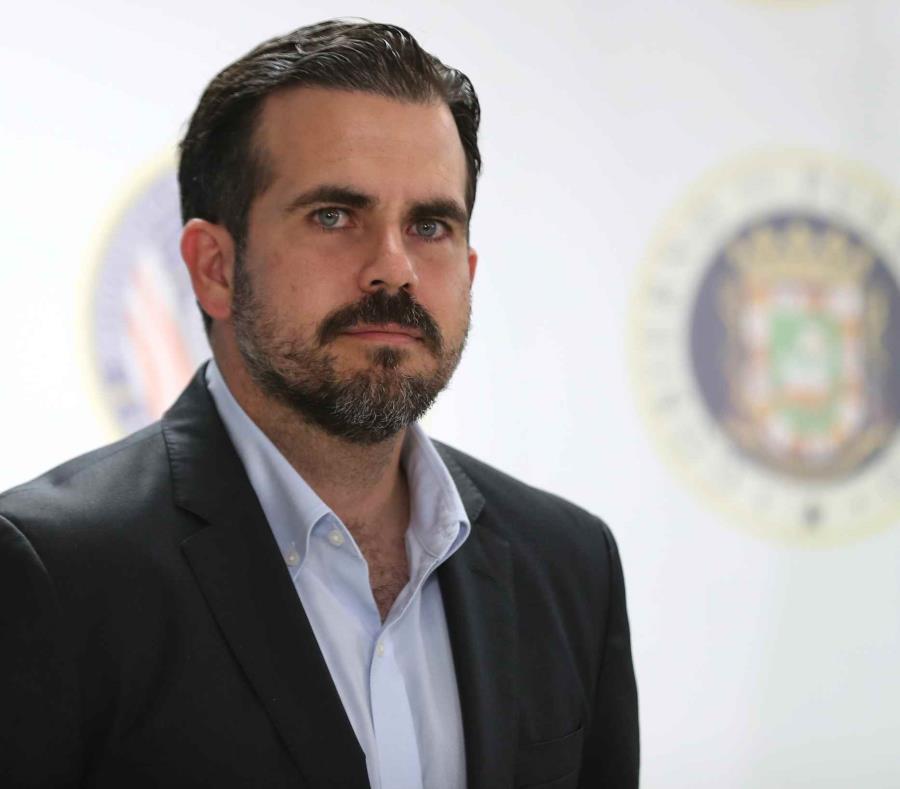 El gobernador Ricardo Rosselló Nevares (semisquare-x3)