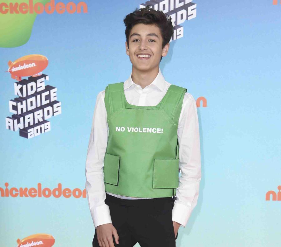"""Marcel Ruiz, quien tiene 15 años, fue elegido como uno de los """"10 Latinxs to Watch de Variety (semisquare-x3)"""