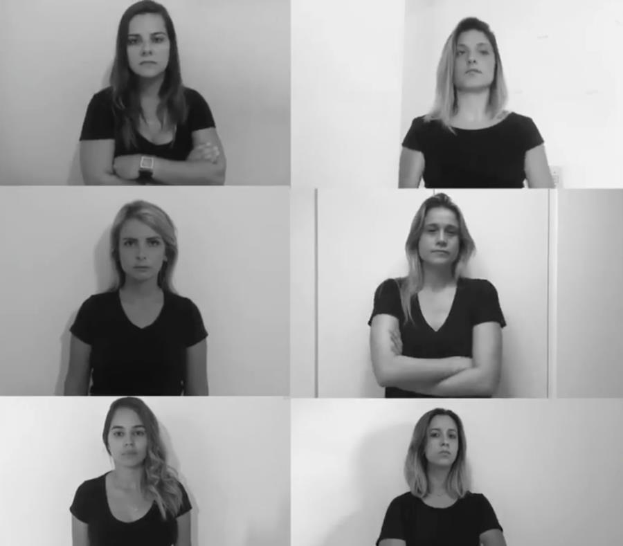 Las periodistas lanzaron una campaña para llamar la atención sobre su situación y para crear presión para acabar con el sexismo y el acoso que sufren mientras trabajar, a menudo de parte de aficionados cuando están en directo. (AP Foto) (semisquare-x3)