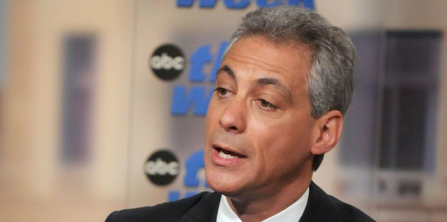 El alcalde de Chicago, Rahm Emanuel (horizontal-x3)
