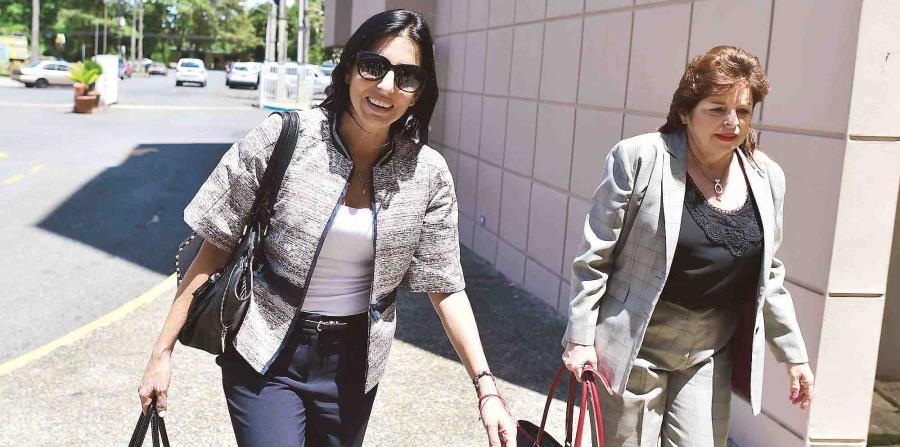 La madre de Ana Cacho, Amneris González, se querelló ante la Policía por el alegado fraude. (horizontal-x3)