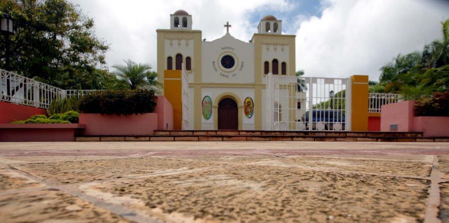 Imagen de la iglesia de Cidra. (GFR Media) (horizontal-x3)
