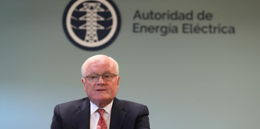 El principal oficial ejecutivo de la Autoridad de Energía Eléctrica (AEE), Walter Higgins, durante una entrevista con El Nuevo Día. (GFR Media) (horizontal-x3)