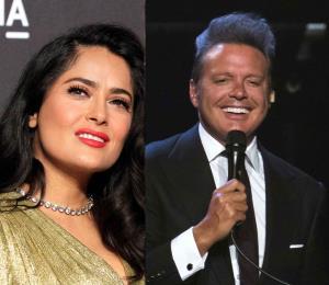 Salma Hayek envía un especial saludo de cumpleaños a Luis Miguel