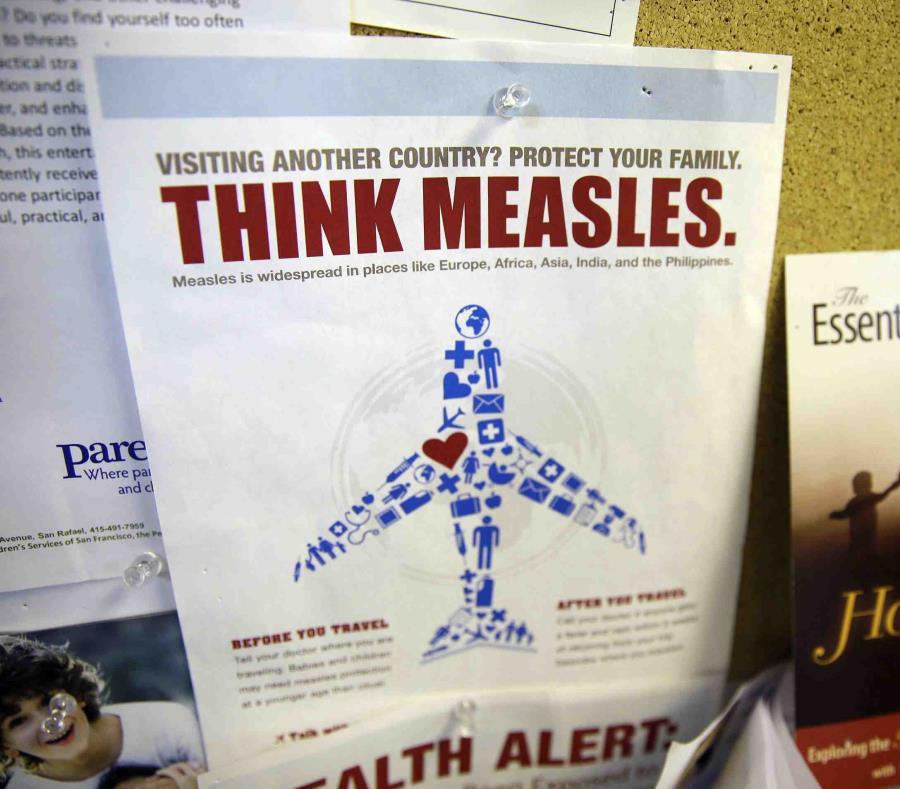 La persona llegó el pasado 2 de abril de un país europeo que no tiene las mismas reglas de inmunización que Estados Unidos. (AP) (semisquare-x3)