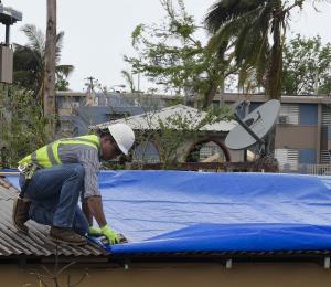 Respuesta federal histórica ante el daño del ciclón María
