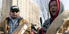 Escuela católica cierra ante protestas indígenas en Kentucky
