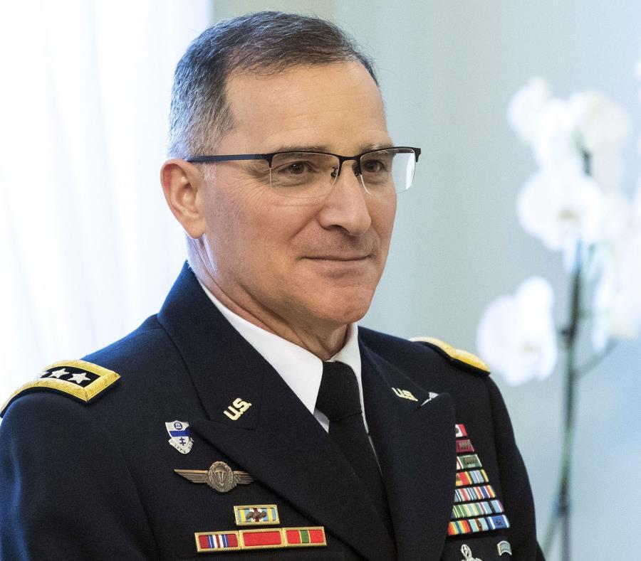 El general estadounidense Curtis Scaparrotti, jefe de Comando Aliado Supremo de Europa, en Letonia (semisquare-x3)