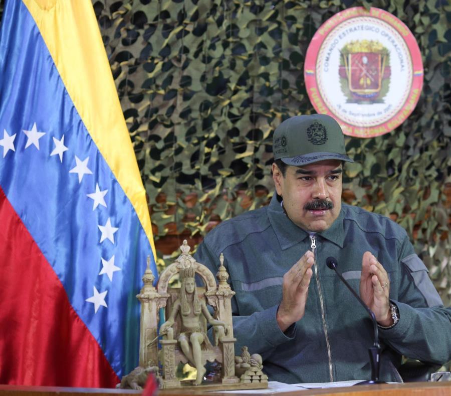 El presidente venezolano, Nicolás Maduro (semisquare-x3)