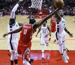 Harden y Paul guían a los Rockets a ganar 13 partidos en fila