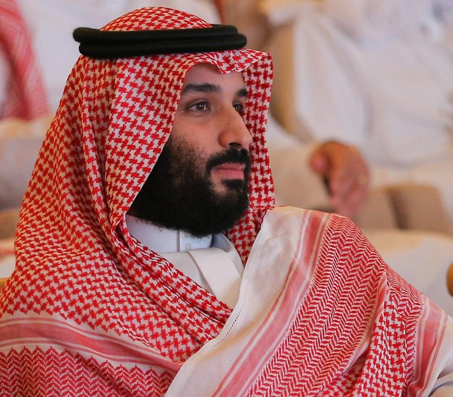 El príncipe heredero saudí, Mohamed bin Salman (semisquare-x3)