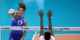 Selección femenina de voleibol abre el Final Four con una derrota ante Dominicana