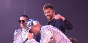 Aparición sorpresa de Ricky Martin en el concierto de Wisin y Yandel