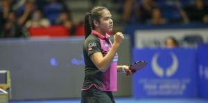Adriana Díaz se coloca entre las mejores 32 del Mundial