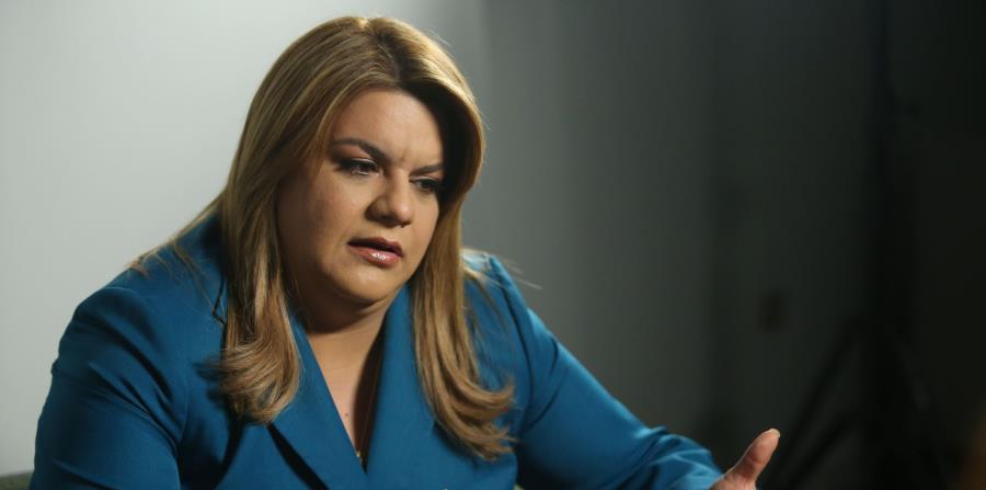 """La comisionada Jenniffer González agradeció al liderato del Senado y la Cámara de Representantes, que ha estado dispuesto a """"salvar a Puerto Rico de casi el colapso"""". (GFR Media) (horizontal-x3)"""