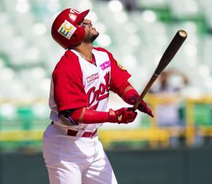 Los Criollos suben al puntero del béisbol invernal