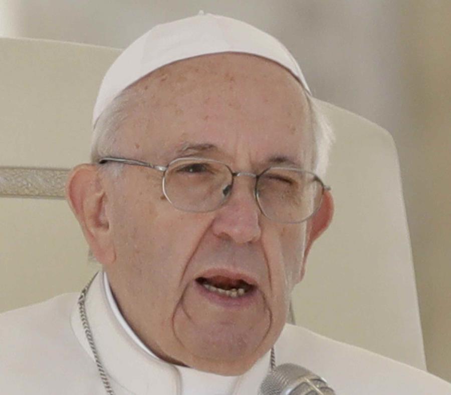 El papa recuerda a Venezuela y a su