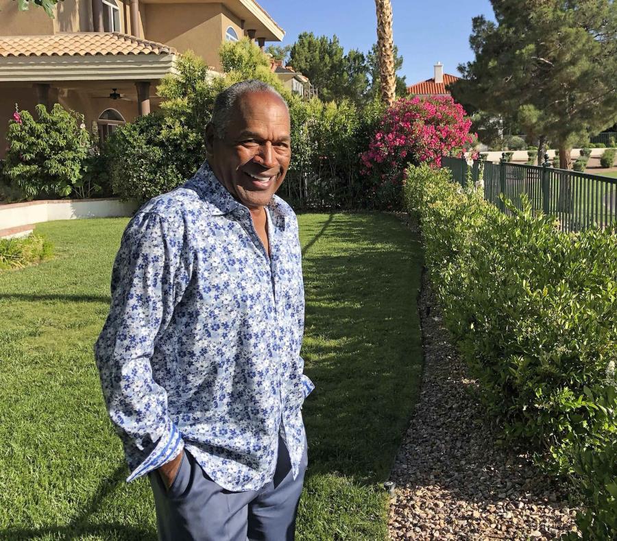 O.J. Simpson dijo que vive una nueva vida desde que optó por radicarse en Las Vegas. (Didier J. Fabien vía AP) (semisquare-x3)