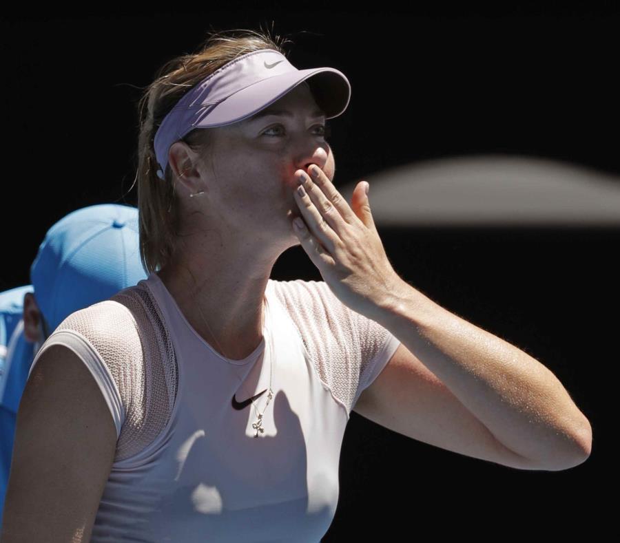 Maria Sharapova, tenista rusa (semisquare-x3)