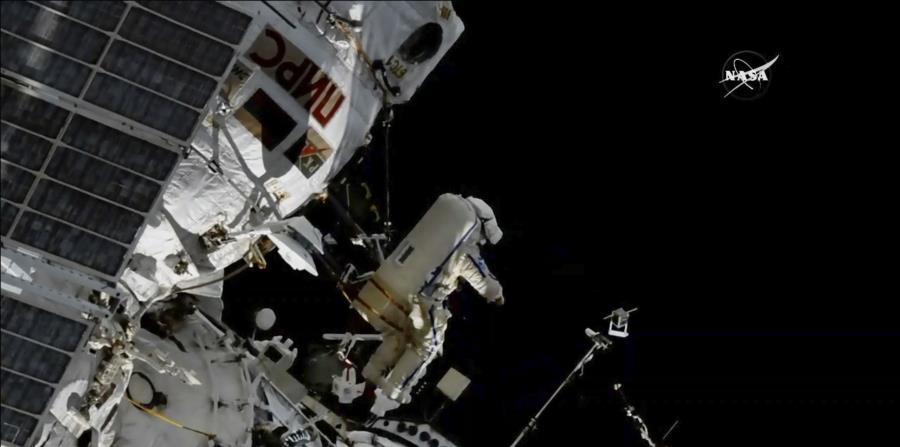 Imagen de la Estación Espacial Internacional. (AP) (horizontal-x3)