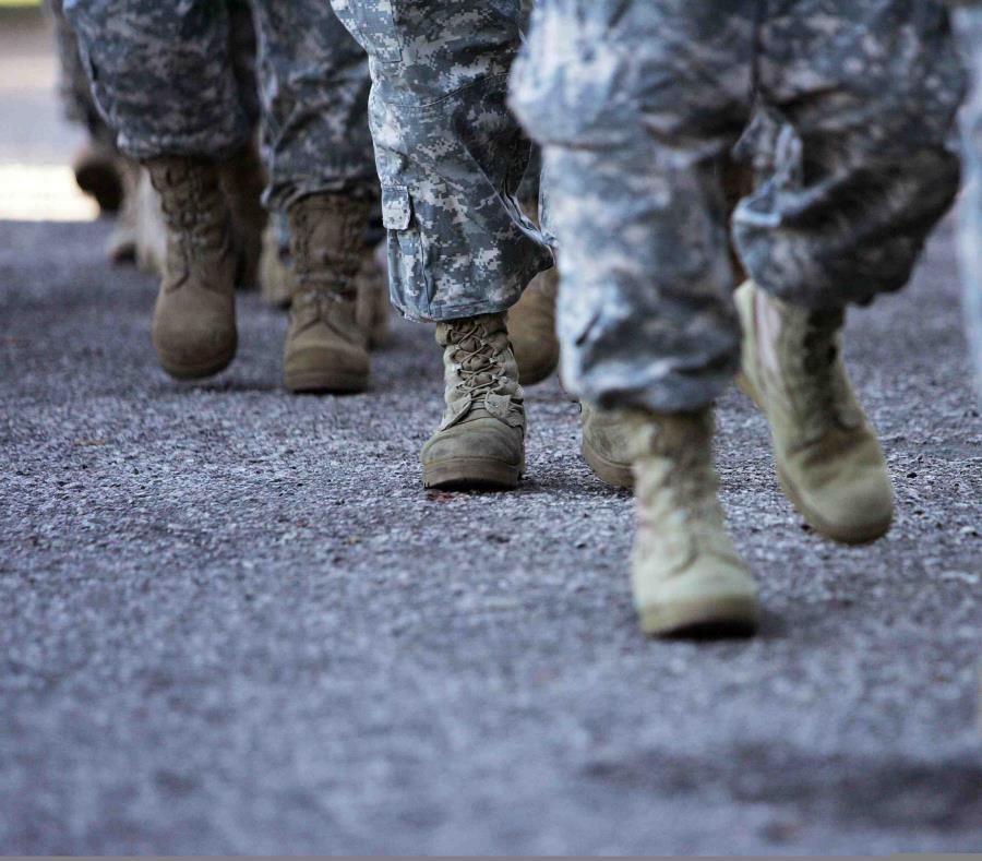 Durante la actividad que estuvo el militar se arrestaron a otras 16 personas. (GFR Media) (semisquare-x3)