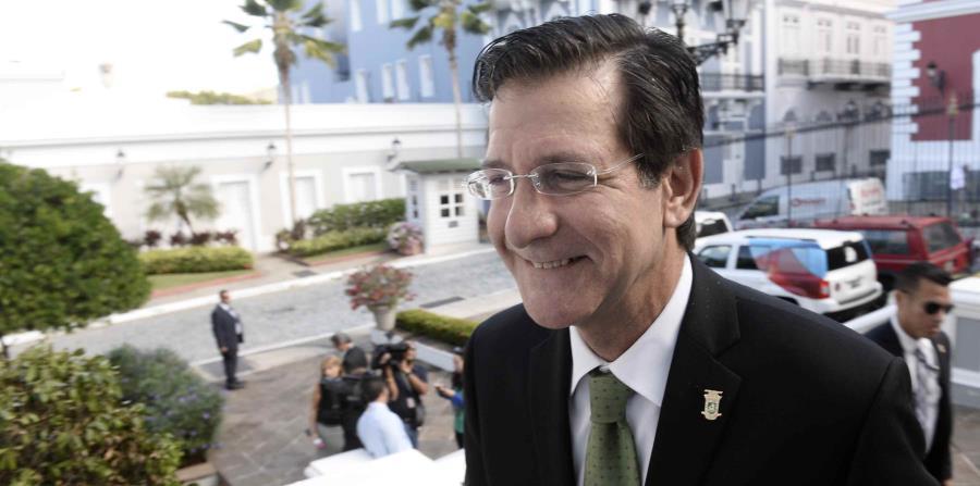El secretario de Estado, Luis Rivera Marín (horizontal-x3)