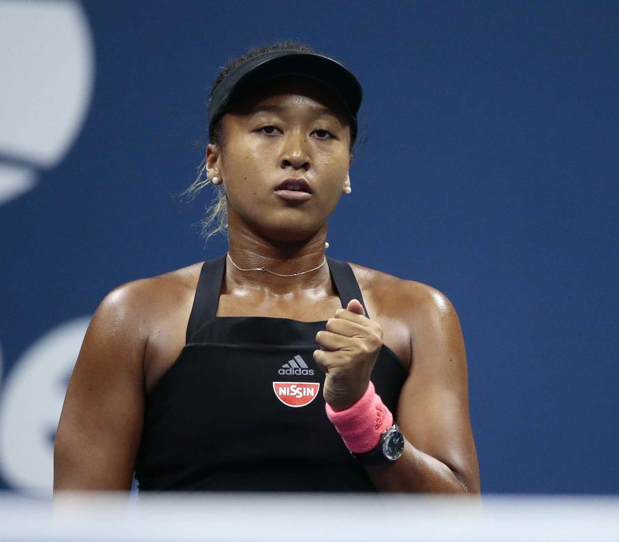 En la foto está Naomi Osaka, tenista japonesa. (semisquare-x3)