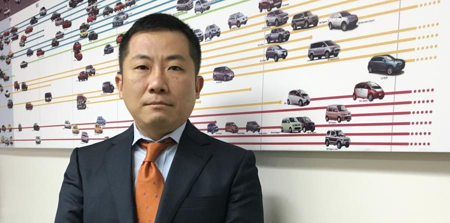 Shintaro Hirano, presidente y CEO de Mitsubishi Motor Sales of Caribbean