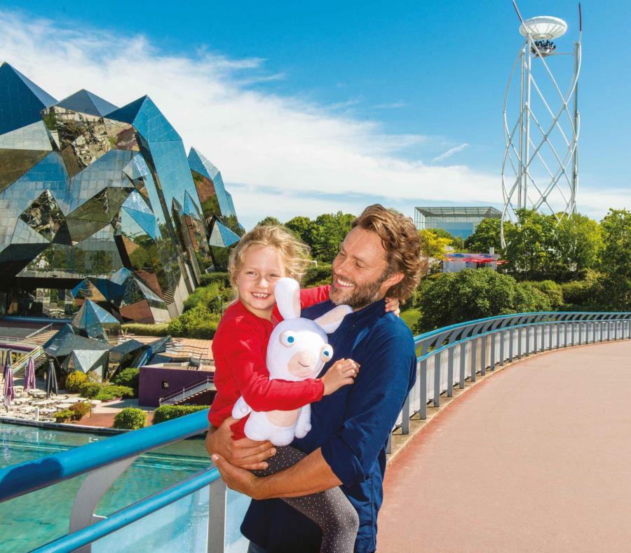 El parque Futuroscope dará un giro en su visión y le dará mucha importacia a la participación de los niños.  (Suministrada) (semisquare-x3)