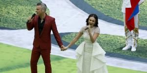 Colorida apertura de la Copa Mundial en Moscú