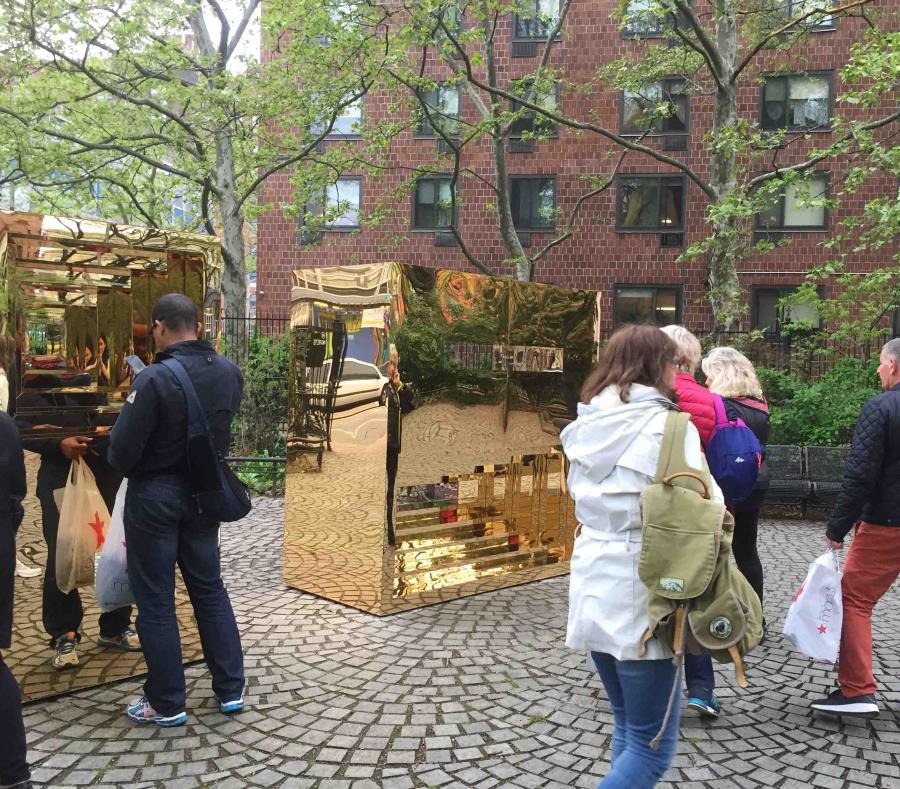 Boricua presenta obra de arte público en Nueva York (semisquare-x3)