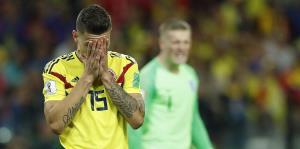 Inglaterra deja devastada a Colombia