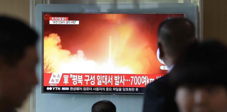 Esta última prueba balística norcoreana se produce tras meses de tensión entre Pyongyang, ante sus insistentes lanzamientos, y Washington. (horizontal-x3)