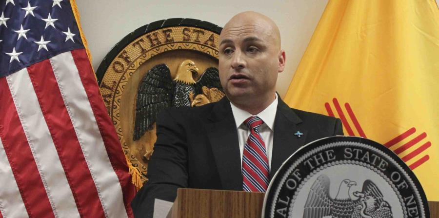 El secretario de Justicia de Nuevo México, Héctor Balderas (horizontal-x3)