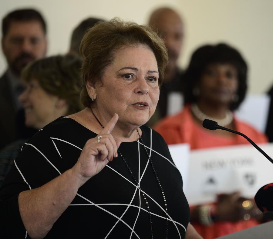 La presidenta de la Asociación de Maestros de Puerto Rico, Aida Díaz, hizo los reclamos mediante un comunicado. (GFR Media) (semisquare-x3)