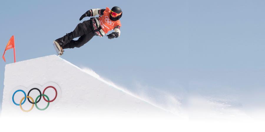 Durante toda la semana, los atletas ya han comenzado a lucir sus habilidades en los campos de entrenamiento en Pyeongchang. En la foto, el canadiense Mark McMorris. (horizontal-x3)