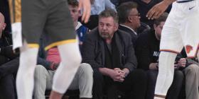 El dueño de los Knicks de Nueva York da positivo al coronavirus
