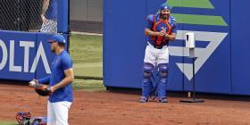 """René Rivera sobre el inicio de las prácticas de MLB en medio de la pandemia: """"Es un proceso que uno tiene que adaptarse"""""""
