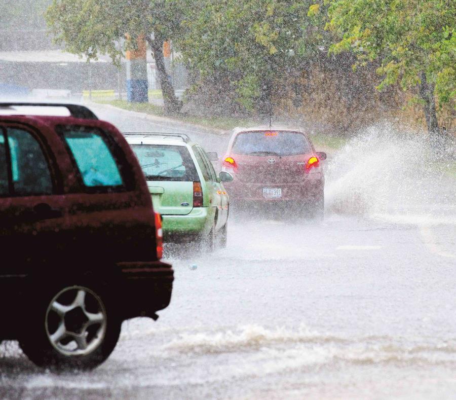 El patrón de lluvia continuará el viernes y en el fin de semana. (GFR Media) (semisquare-x3)