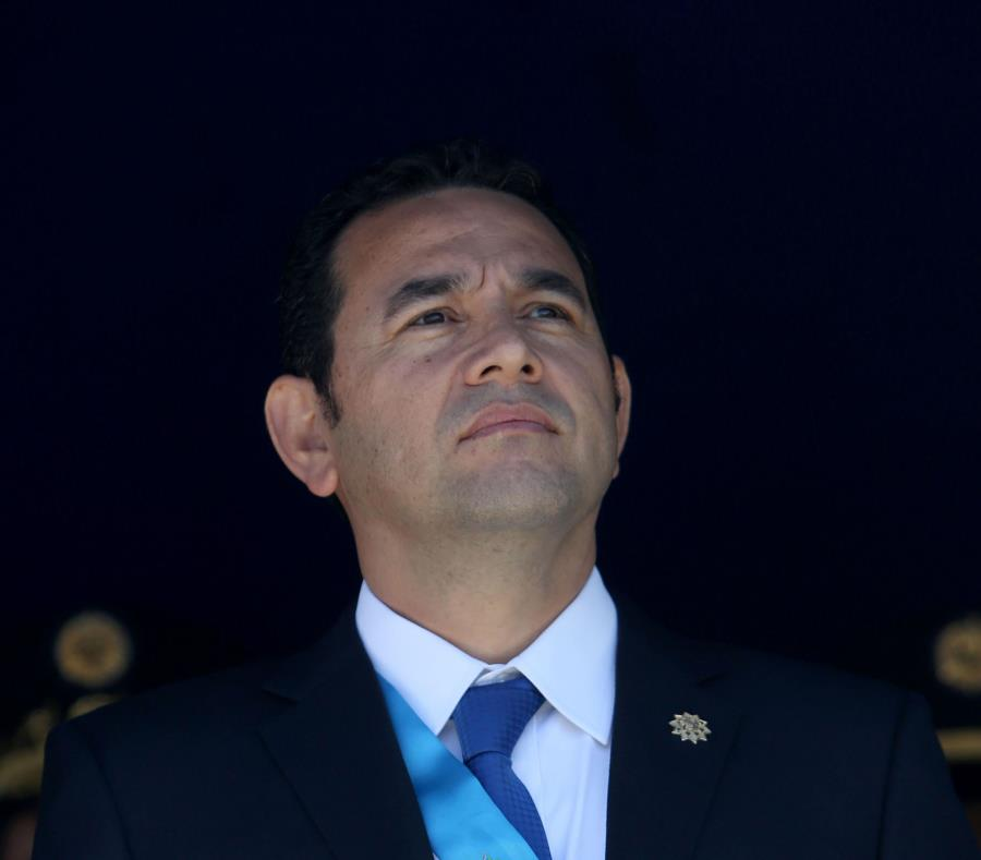 Jimmy Morales, presidente de Guatemala (semisquare-x3)
