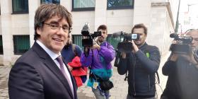 La Justicia belga deja en libertad a Carles Puigdemont