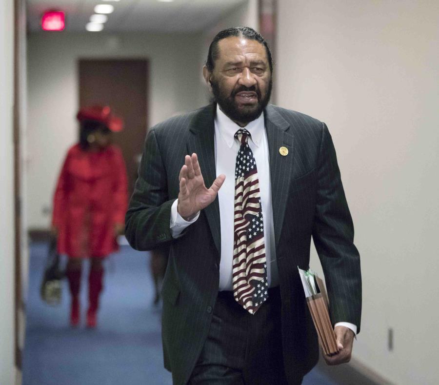 La iniciativa presentada por el representante demócrata Al Green fue derrotada mediante votación. (AP / J. Scott Applewhite) (semisquare-x3)