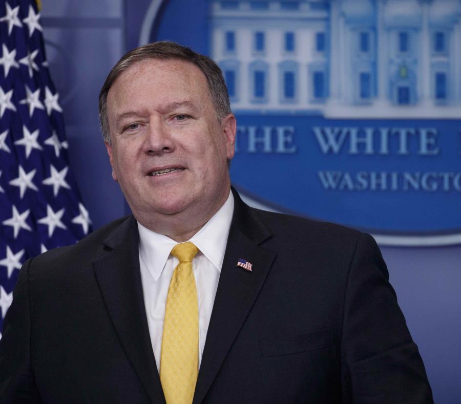 El secretario de Estado de Estados Unidos, Mike Pompeo (semisquare-x3)