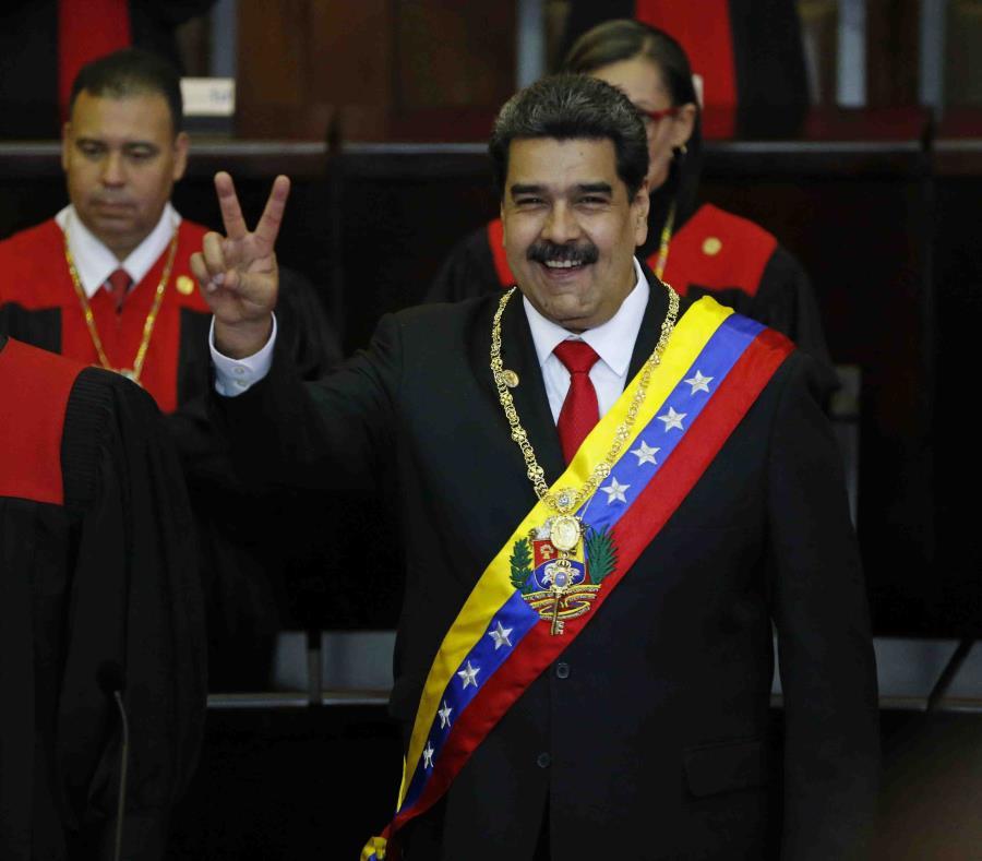 Nicolás Maduro, presidente de Venezuela (semisquare-x3)