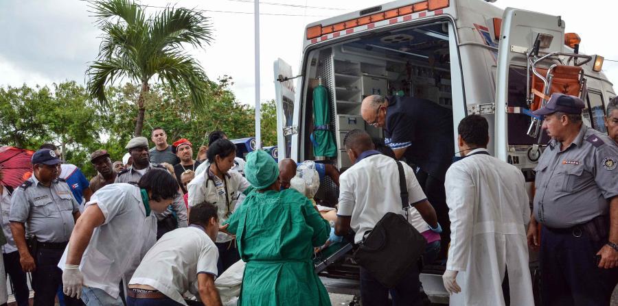 Una sobreviviente del avión Boeing-737 que se estrelló poco después de despegar del aeropuerto José Martí de La Habana, en Cuba (horizontal-x3)