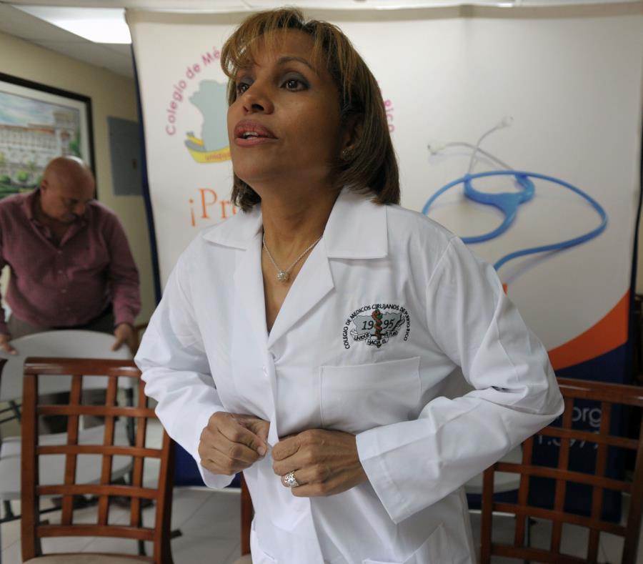 Norma Devarie, presidenta de la Cooperativa de Cardiólogos, opinó que muchos especialistas podrían no aceptar la Reforma en sus despachos. (GFR Media) (semisquare-x3)