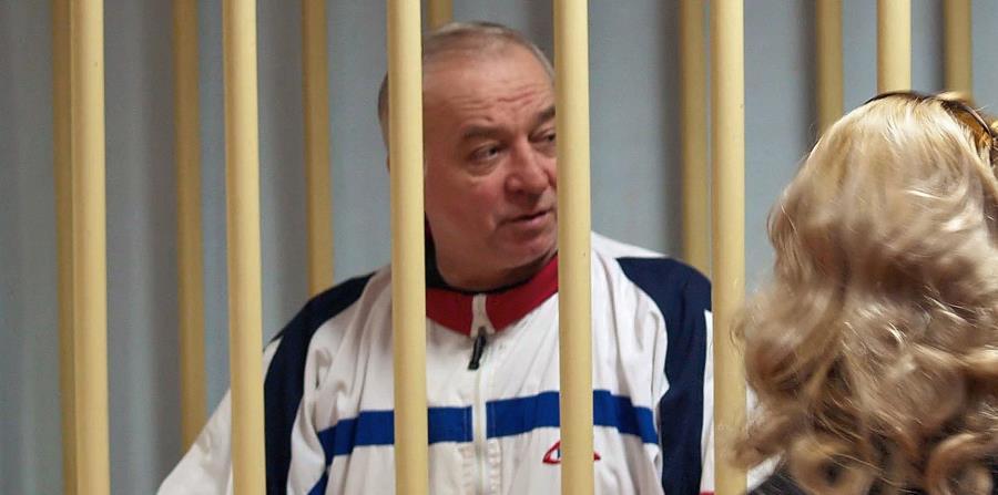 al ex espía ruso Sergei Skripal durante una vista en el tribunal militar del distrito de Moscú en Rusia. (horizontal-x3)